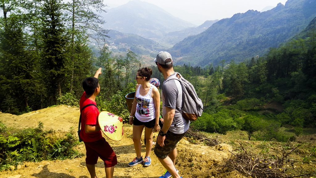 Trekking with real local guide