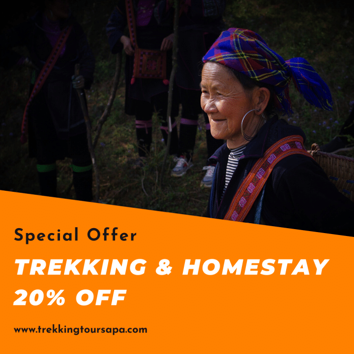 Trekking Tour Sapa 20 off